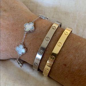 Jewelry - Clover Sterling Silver Bracelet